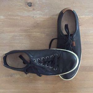 Black Ecco Stylish Sneakers